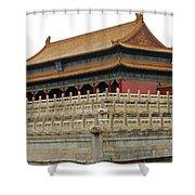 Forbidden City 60 Shower Curtain