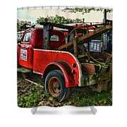 Ford F4 Tow The Truck Business End Shower Curtain