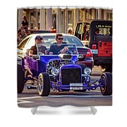 Ford T-bucket Hot Rod Shower Curtain
