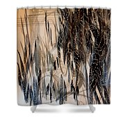 Forest Of Lights Shower Curtain