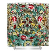 Forms Of Nature #4 Shower Curtain