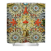 Forms Of Nature #5 Shower Curtain