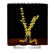 Forsythea Shower Curtain