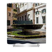 Fountain Square St. Eustace Shower Curtain