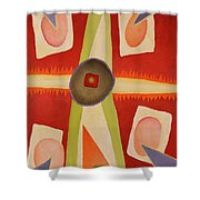 Four Points Less Known Shower Curtain