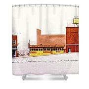 Fourth Street Shower Curtain