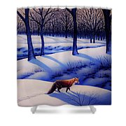 Fox Hunt Creek Shower Curtain