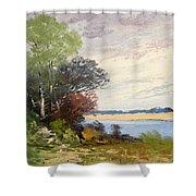 Fox River 1909 Shower Curtain