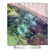 Fractured Glass Shower Curtain