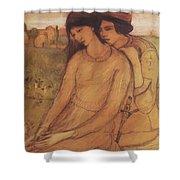 Francesca Da Rimini And Paolo Malatesta 1903 Shower Curtain
