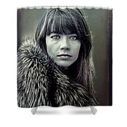 Francoise Hardy  Shower Curtain