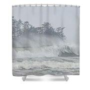 Frank Island Shower Curtain by Randy Hall