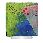 Free Form 1 Shower Curtain