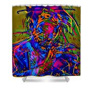 Free Your Jazz Self Shower Curtain