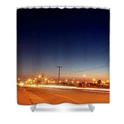 Freedom Square  Shower Curtain