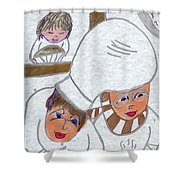 French Chefs Shower Curtain