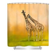Friends For Life Shower Curtain