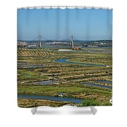 From Algarve To Andalusia Shower Curtain