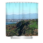From Pv To La Shower Curtain by Michael Hope