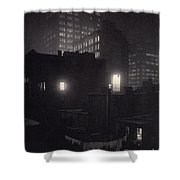 From The Back Window, 291 Ny Winter Shower Curtain