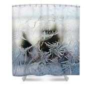 Frost From Canada Shower Curtain