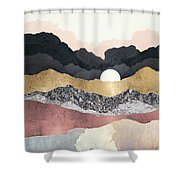 Frost Reflection Shower Curtain