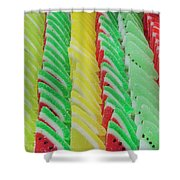 Fruit Jelly Candy Shower Curtain