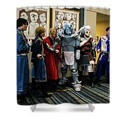 Fullmetal Alchemist Cosplayers Shower Curtain