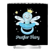 Fun Pacifier Fairy Boys To Give Up Pacifiers Shower Curtain