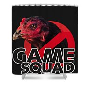 Game Squad Shower Curtain