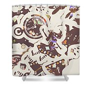 Games And Fairytales Shower Curtain