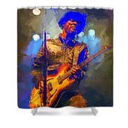 Gary Clark Jr Shower Curtain