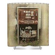 Gas Pump - Everett Corner Store Shower Curtain