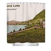 Geneva Lake Shower Curtain