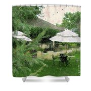 Gentility Impression  Shower Curtain