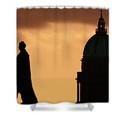 George Iv And Wrh Shower Curtain
