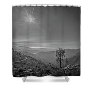 Geres - One Tree Shower Curtain