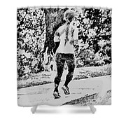 Get Fit Shower Curtain