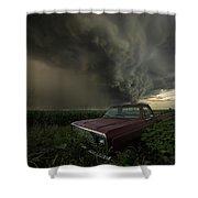 Get Outta Dodge  Shower Curtain