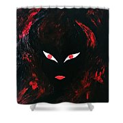 Get The Hell Away From Me Shower Curtain by Marianna Mills