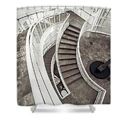 Getty Stairs Shower Curtain