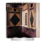 Getty Villa Interior  Shower Curtain
