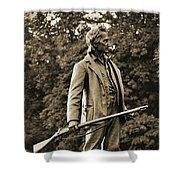 Gettysburg Battlefield - John Burns Shower Curtain