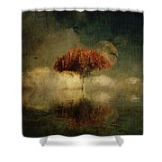 Giant Oak In A Dream Shower Curtain by Jan Keteleer