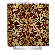 Gilded Shower Curtain by Mark Taylor