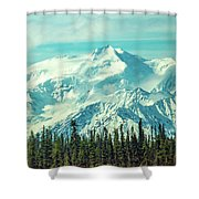 Glacier View Shower Curtain