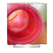 Glass Abstract 719 Shower Curtain