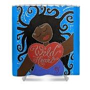 Goddess Of Wild Hearts Shower Curtain