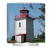 Goderich Lighthouse Shower Curtain