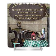 Gogarty And Joyce Statues One Shower Curtain